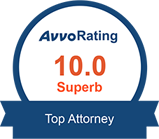 Avvo 10.0 - Top Lawyer